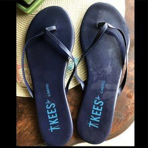 TKEES liners in dark blue